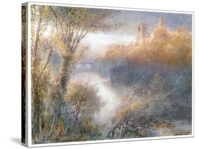 Durham Cathedral, 1903-Albert Goodwin-Stretched Canvas Print