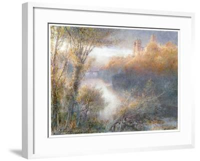 Durham Cathedral, 1903-Albert Goodwin-Framed Giclee Print