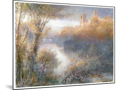 Durham Cathedral, 1903-Albert Goodwin-Mounted Giclee Print
