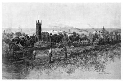 Warrnambool, 1886-Albert Henry Fullwood-Giclee Print