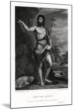 John the Baptist, 19th Century-A Rordorf-Mounted Giclee Print