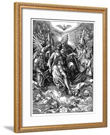 The Trinity, 1511-Albrecht Durer-Framed Giclee Print