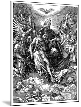 The Trinity, 1511-Albrecht Durer-Mounted Giclee Print