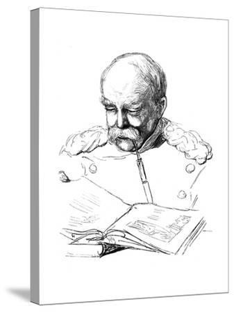 Otto Von Bismark, German Statesman, 1877-A von Werner-Stretched Canvas Print