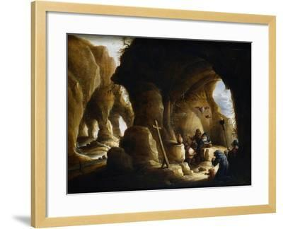 The Temptation of St Anthony, C1649-1670-Abraham Teniers-Framed Giclee Print