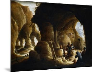 The Temptation of St Anthony, C1649-1670-Abraham Teniers-Mounted Giclee Print
