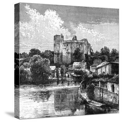 Ruins of Château De Clisson, France, 1898-Barbant-Stretched Canvas Print