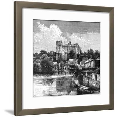 Ruins of Château De Clisson, France, 1898-Barbant-Framed Giclee Print