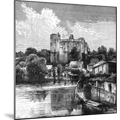 Ruins of Château De Clisson, France, 1898-Barbant-Mounted Giclee Print