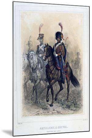 Field Marshal of the Horse Artillery, 1859-Auguste Raffet-Mounted Giclee Print