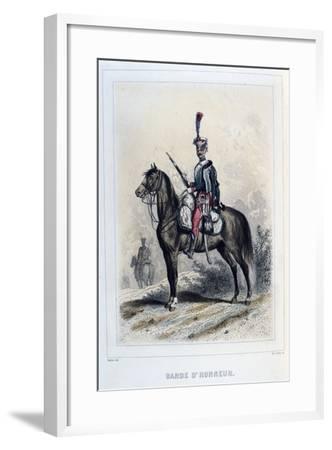 Guard of Honour, 1859-Auguste Raffet-Framed Giclee Print