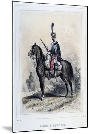Guard of Honour, 1859-Auguste Raffet-Mounted Giclee Print