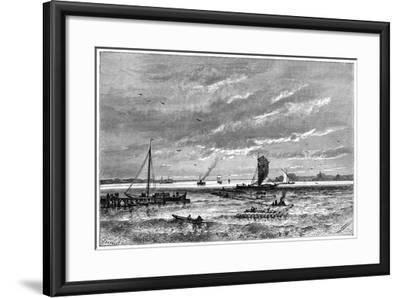 The Dvina, from Archangel, Russia, 1879-Barbant-Framed Giclee Print