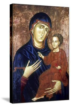 Madonna and Child, 1230-Barone Berlinghier-Stretched Canvas Print