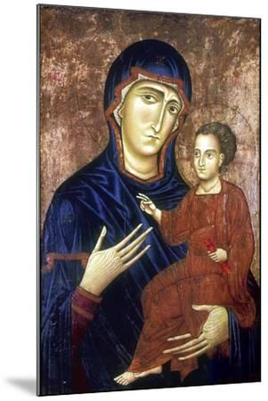 Madonna and Child, 1230-Barone Berlinghier-Mounted Giclee Print