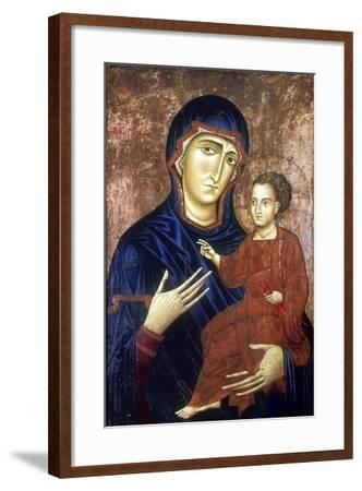 Madonna and Child, 1230-Barone Berlinghier-Framed Giclee Print