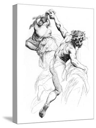 Study for the Triumph of Flora, C1880-1882-Alexandre Cabanel-Stretched Canvas Print