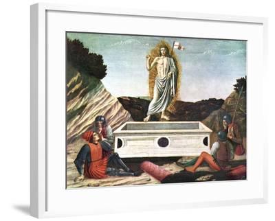 The Resurrection, Mid 15th Century-Andrea Del Castagno-Framed Giclee Print