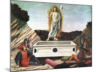 The Resurrection, Mid 15th Century-Andrea Del Castagno-Mounted Giclee Print