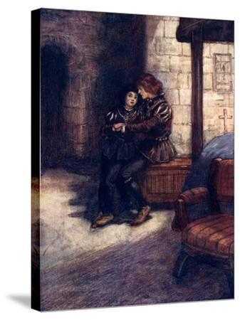 The Days Seemed Very Long and Dreary to the Two Little Boys, C1483-AS Forrest-Stretched Canvas Print