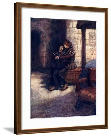 The Days Seemed Very Long and Dreary to the Two Little Boys, C1483-AS Forrest-Framed Giclee Print
