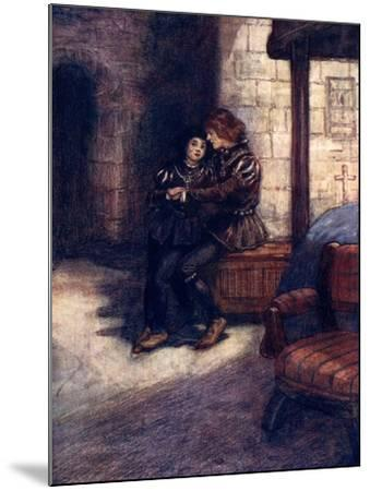 The Days Seemed Very Long and Dreary to the Two Little Boys, C1483-AS Forrest-Mounted Giclee Print