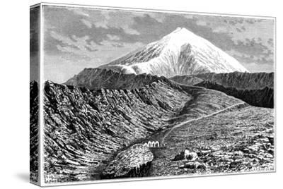 Mount Ararat, Turkey, 19th Century- Barrant-Stretched Canvas Print