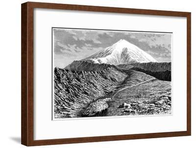 Mount Ararat, Turkey, 19th Century- Barrant-Framed Giclee Print