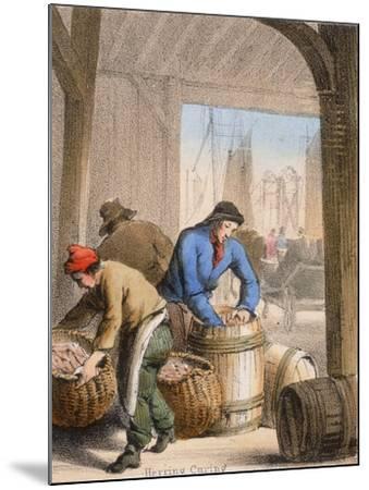 Herring Curing, C1845-Benjamin Waterhouse Hawkins-Mounted Giclee Print