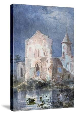 Landscape of Eygue, 1833-Alexandre Pouchkine-Stretched Canvas Print