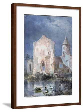 Landscape of Eygue, 1833-Alexandre Pouchkine-Framed Giclee Print