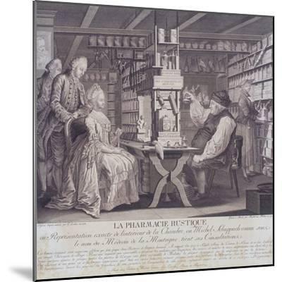La Pharmacie Rustique, C1775-Barthelemi Hubner-Mounted Giclee Print