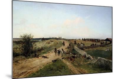 Scene from the Franco-Prussian War, 1870, 19th Century-Alphonse De Neuville-Mounted Giclee Print
