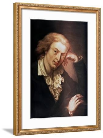 Johann Christoph Friedrich Von Schiller, German Poet, Dramatist and Historian, C1785-Anton Graff-Framed Giclee Print