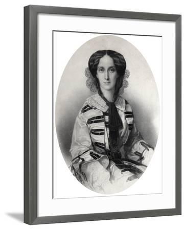 Tsarina Maria Alexandrovna of Russia, 1860-Andrei Deniere-Framed Giclee Print