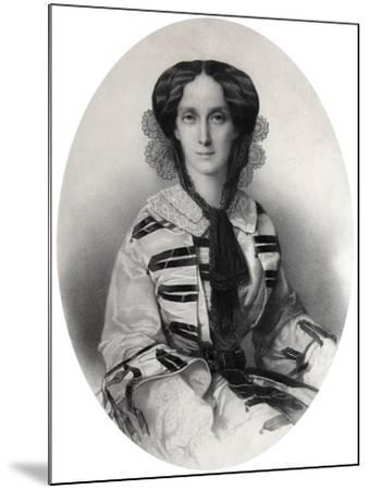 Tsarina Maria Alexandrovna of Russia, 1860-Andrei Deniere-Mounted Giclee Print