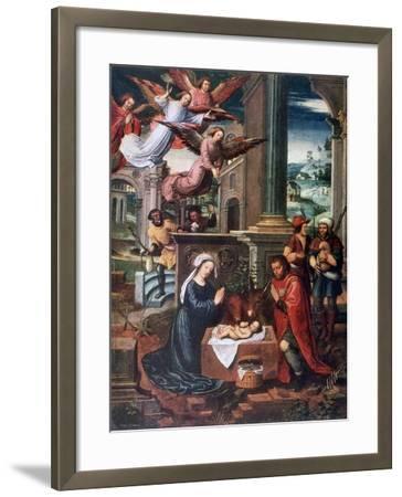 The Nativity, C1500-1550-Ambrosius Benson-Framed Giclee Print