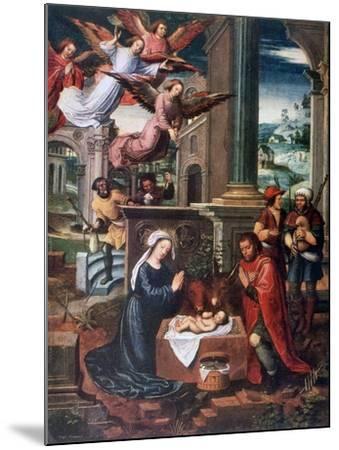 The Nativity, C1500-1550-Ambrosius Benson-Mounted Giclee Print