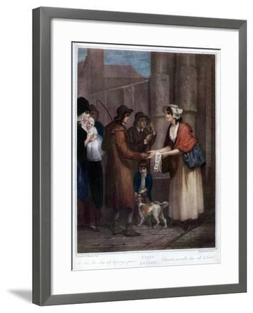 A New Love Song, Only Ha'Penny a Piece, 1796-Anthony Cardon-Framed Giclee Print