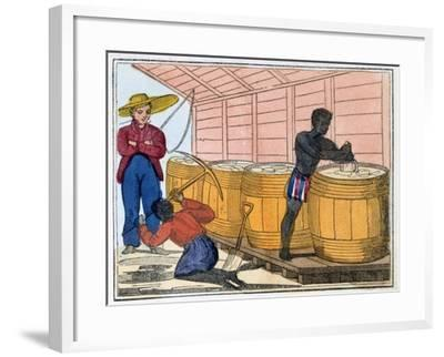 The Blackman's Lament on How to Make Sugar, 1813-Amelia Alderson Opie-Framed Giclee Print