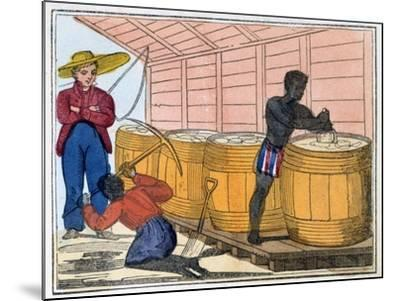 The Blackman's Lament on How to Make Sugar, 1813-Amelia Alderson Opie-Mounted Giclee Print