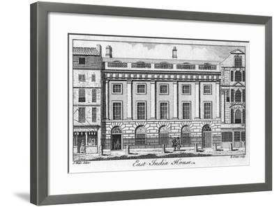 The East India House, City of London, Late 18th Century-B Green-Framed Giclee Print