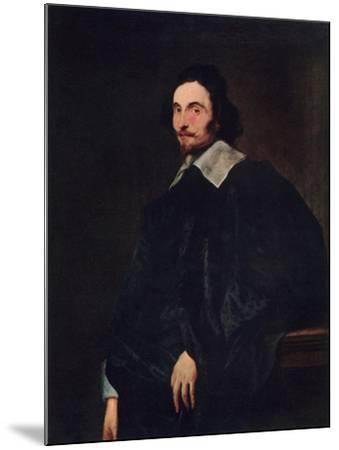 A Senator of Antwerp, 1927-Sir Anthony Van Dyck-Mounted Giclee Print