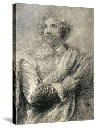 Study for the Painting of the Engraver, Peter De Jode the Younger, 1913-Sir Anthony Van Dyck-Stretched Canvas Print