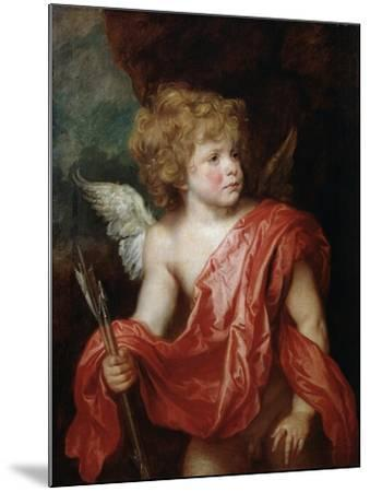 Cupid, Early 17th Century-Sir Anthony Van Dyck-Mounted Giclee Print