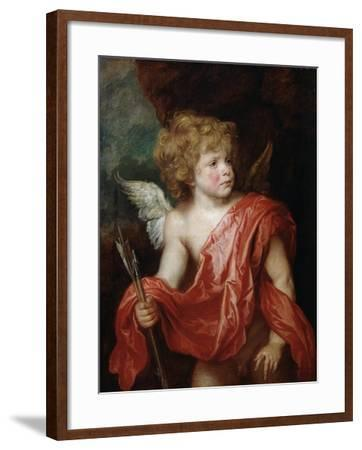 Cupid, Early 17th Century-Sir Anthony Van Dyck-Framed Giclee Print