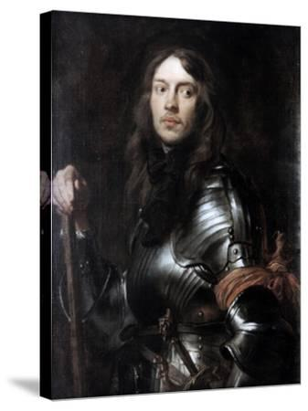 Commander in Armour, with a Red Scarf,' C1625-1627-Sir Anthony Van Dyck-Stretched Canvas Print