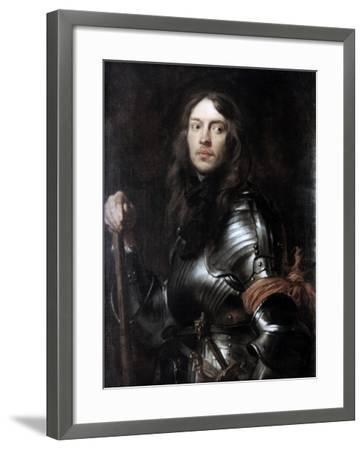 Commander in Armour, with a Red Scarf,' C1625-1627-Sir Anthony Van Dyck-Framed Giclee Print