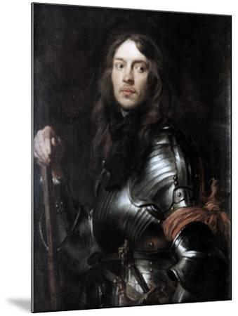 Commander in Armour, with a Red Scarf,' C1625-1627-Sir Anthony Van Dyck-Mounted Giclee Print
