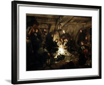 The Death of Admiral Lord Nelson, 1805-Arthur William Devis-Framed Giclee Print